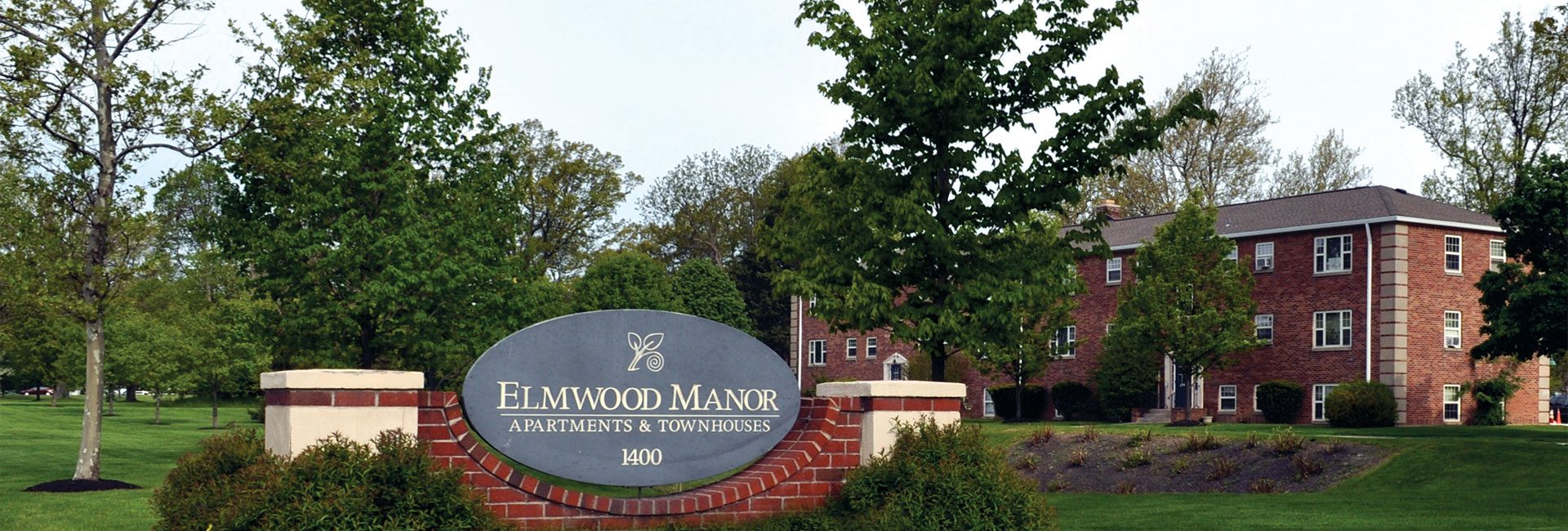 Elmwood Manor Sign