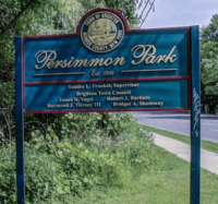 Sign at the entrance to Persimmon Park