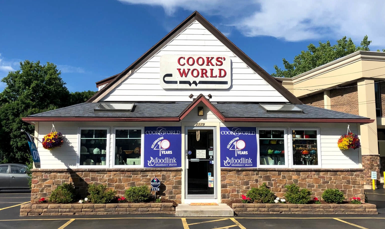 Cooks World store front